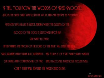 moon wolf blood wallpapers desktop quotes words background howling wolves backgrounds pack spirit friendship wallpapercave lunar dog