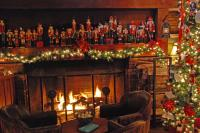 Christmas Fireplace Wallpapers - Wallpaper Cave