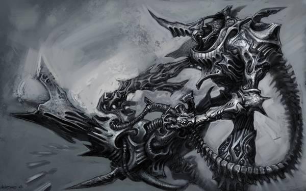 Demon Desktop Background Art