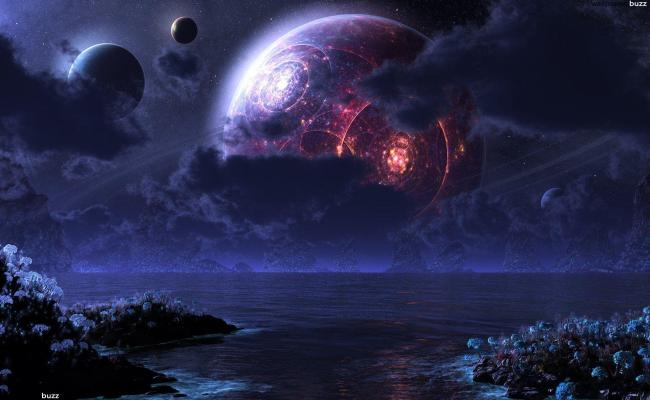 Fantasy Space Wallpapers Wallpaper Cave