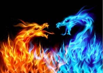 dragon flame digital hd
