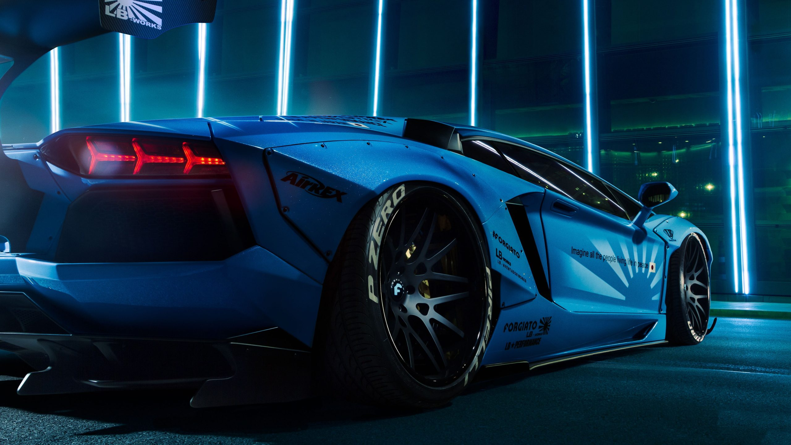 Sizing also makes later remov. Car Wallpaper Sports Car Supercar Lamborghini Aventador Blue Car Wallpaper For You Hd Wallpaper For Desktop Mobile