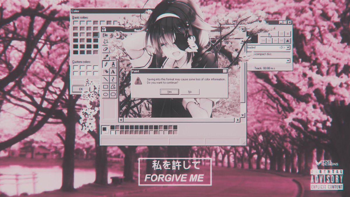 Japanese aesthetic aesthetic gif retro aesthetic aesthetic. Retro Anime Aesthetic Desktop Wallpapers • Wallpaper For ...