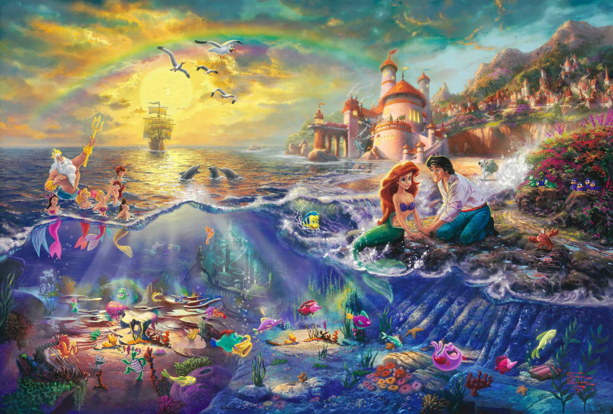 We've gathered more than 5 million images uploaded by our users and sorted them by the most popular ones. Wallpaper Disney Little Mermaid Wallpaper, Castle, Cartoon