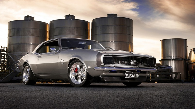 Gorgeous Old Chevrolet Camaro HD Wallpaper WallpaperFX