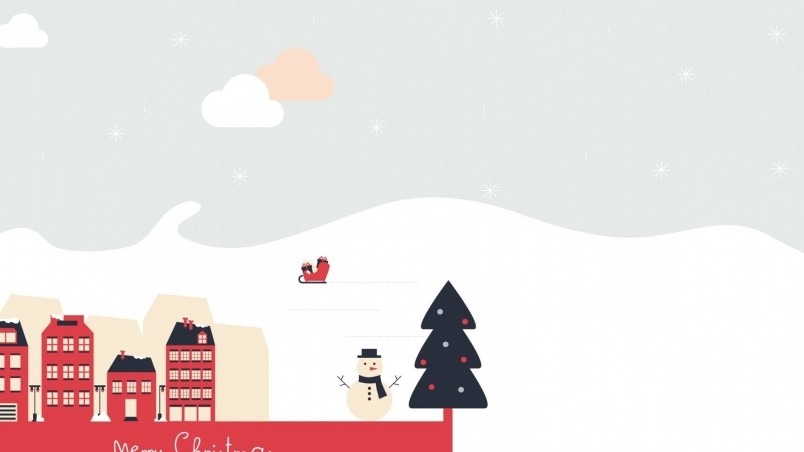 Free Xmas Wallpapers Animated Beautiful Merry Christmas Poster Hd Wallpaper Wallpaperfx