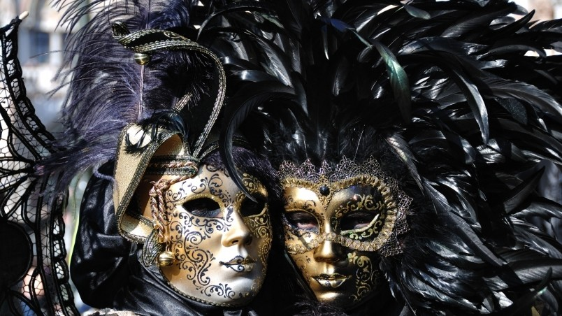 320x480 Animated Wallpapers Venice Carnival Masks Hd Wallpaper Wallpaperfx