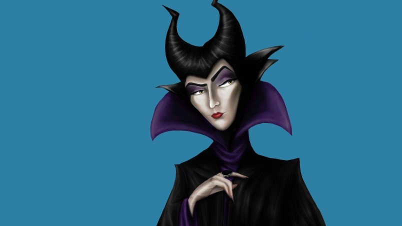 Iphone X Inspired Wallpapers Maleficent Drawing Hd Wallpaper Wallpaperfx