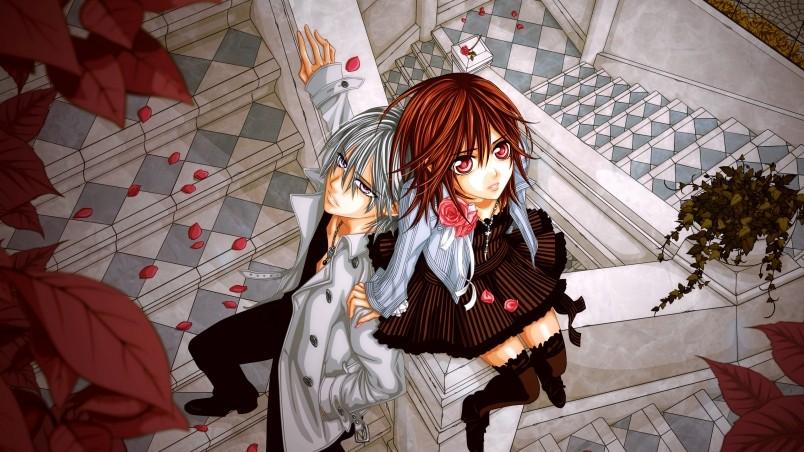 Boy And Girl Hd Wallpaper Free Download Vampire Knight Soulmate Hd Wallpaper Wallpaperfx
