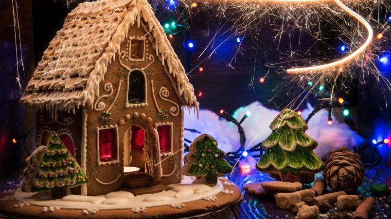 Gingerbread Christmas Screensavers