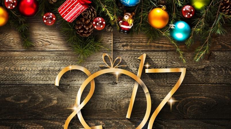 Holiday Season Decorations HD Wallpaper