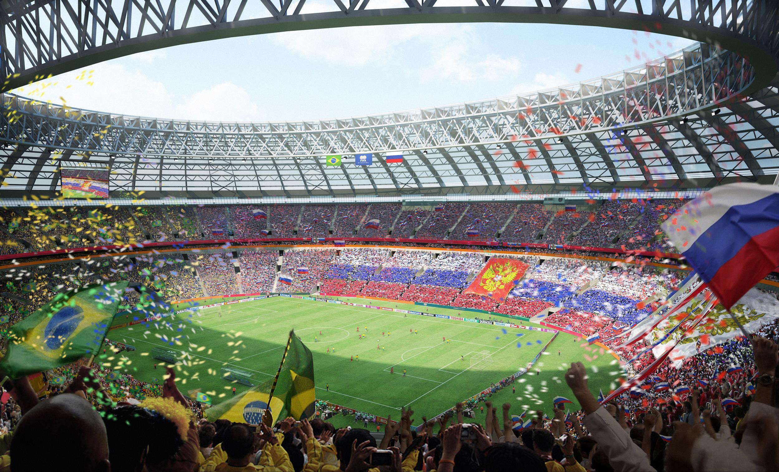 Wwe Dx Hd Wallpaper World Cup Russia 2018 Wallpaper