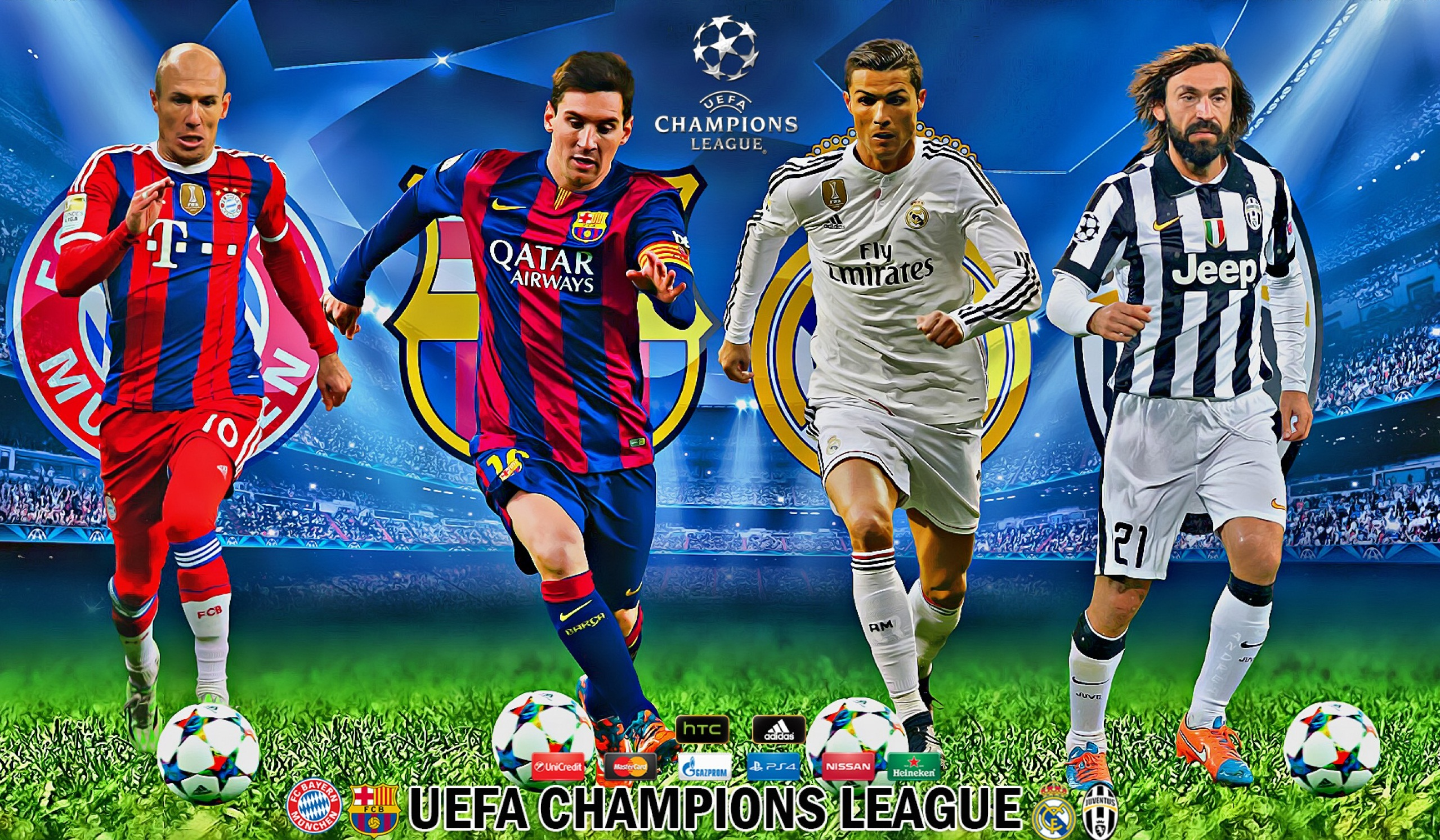 Real Madrid D Uefa Champions League Wallpapers