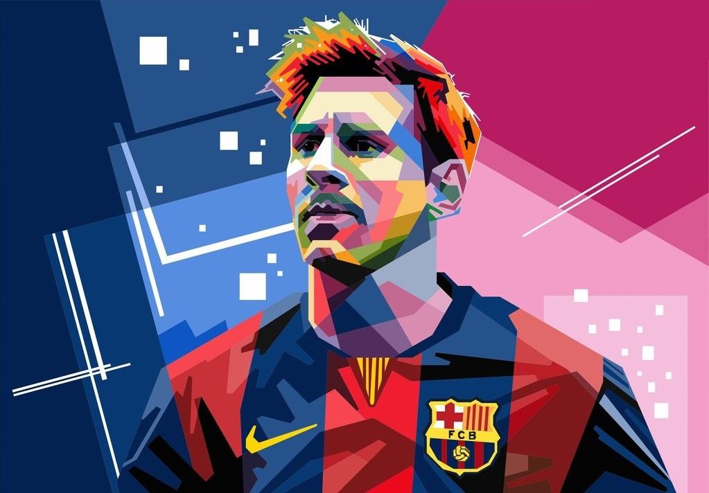 Cute Cartoon Face Wallpapers Messi Cartoon Wallpaper