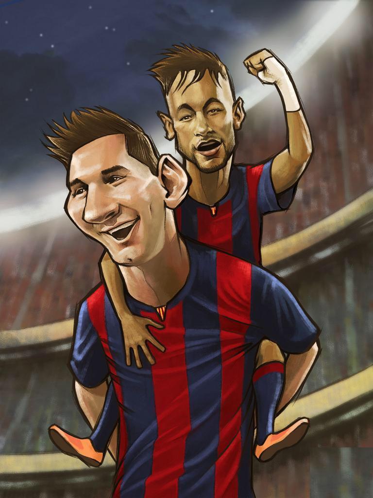 Cute Cartoon Live Wallpaper Messi Cartoon Wallpaper