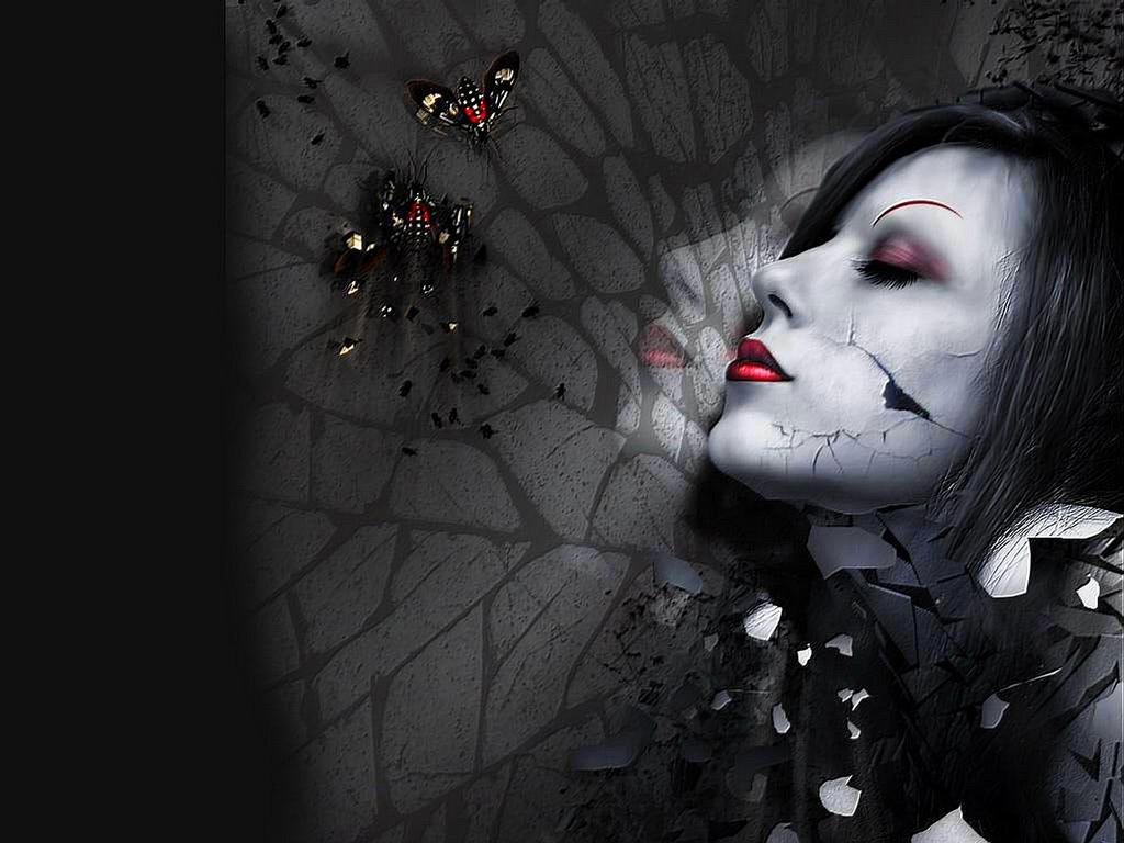 Gothic Girl Wallpaper Photos Wallpaper  WallpaperLepi