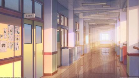 anime inside windows classrooms wallpapermaiden sunlight