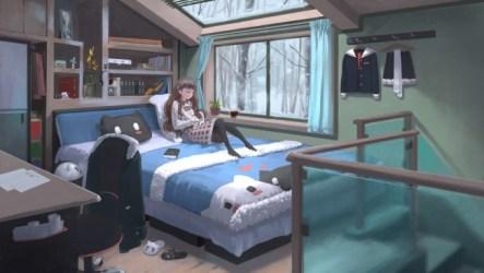 anime cozy coffee window wallpapermaiden