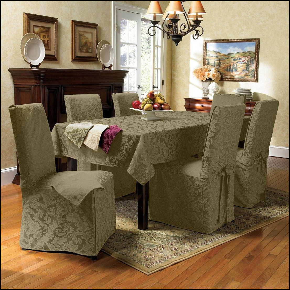 Chair Cover Ideas Covered Dining Area Chairs Gorgeous Ideal 20 Chair Covers