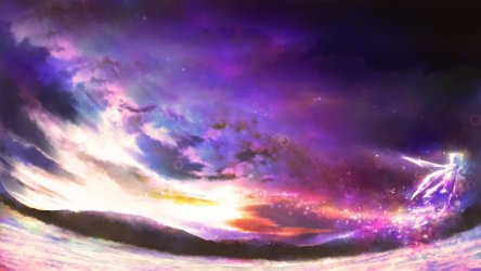 Scenery anime wallpapers 1600x900 desktop backgrounds