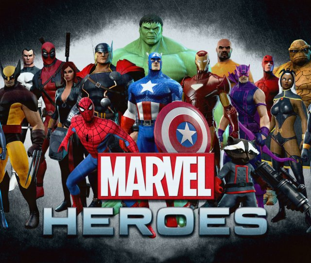 Best Marvel Heroes Wallpaper Id For High Resolution Hd X Pc