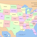 High Resolution United States Map Usa Hd 1680x1050 Background Id 492781 For Desktop
