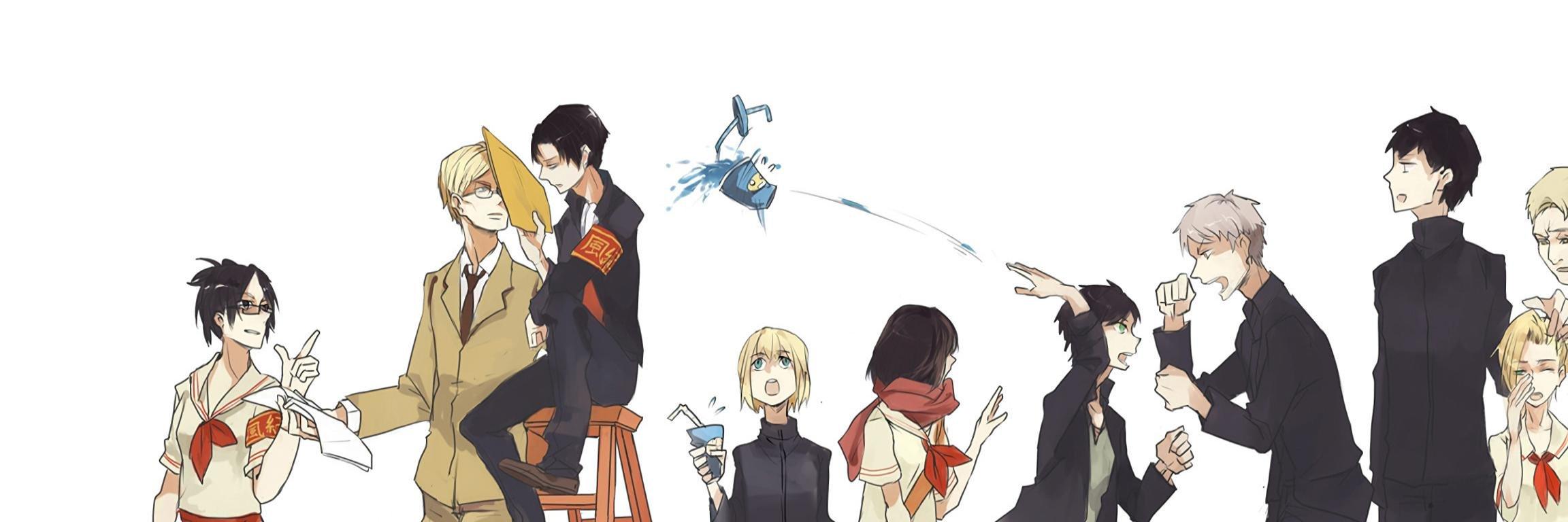 Zendha 2 Monitor Wallpaper Anime