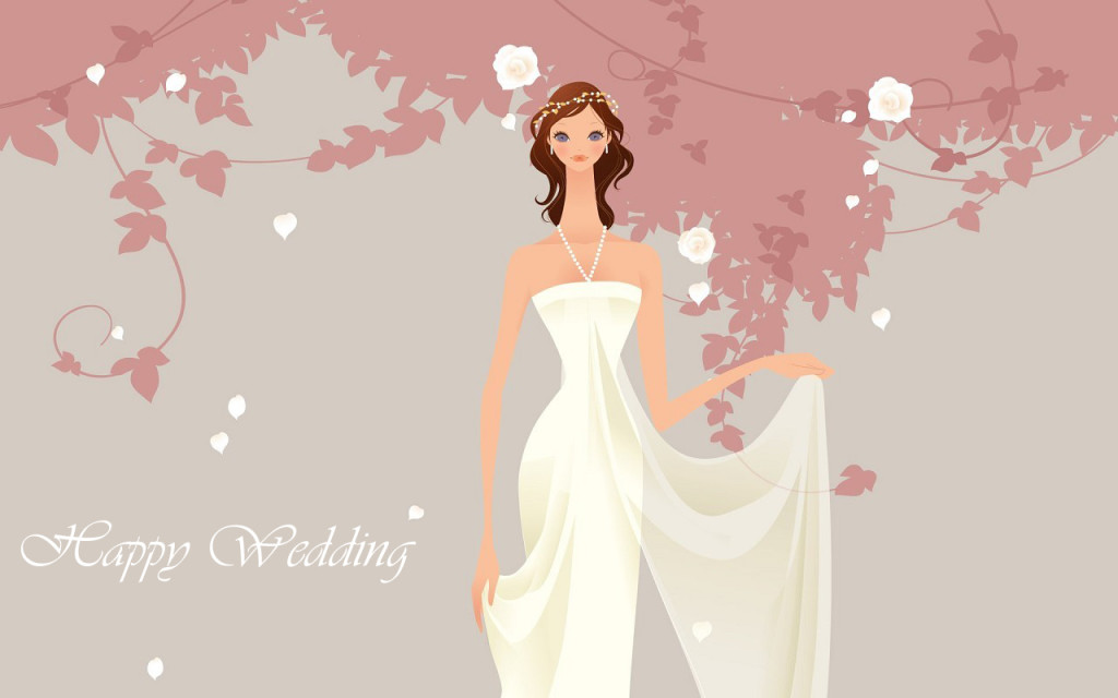 Happy Wedding Wallpaper  BACKGROUND