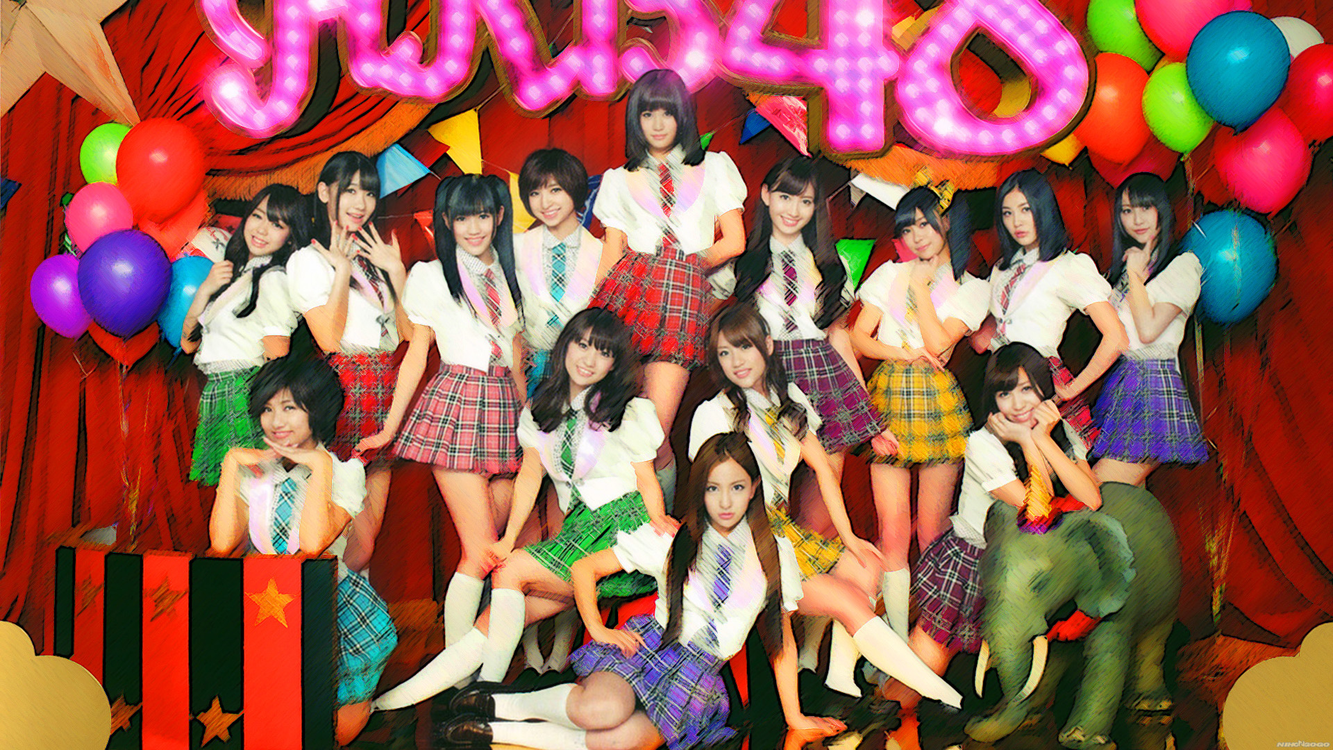 Beautiful Girl Hand Wallpaper Akb 48 School Party Themes Music