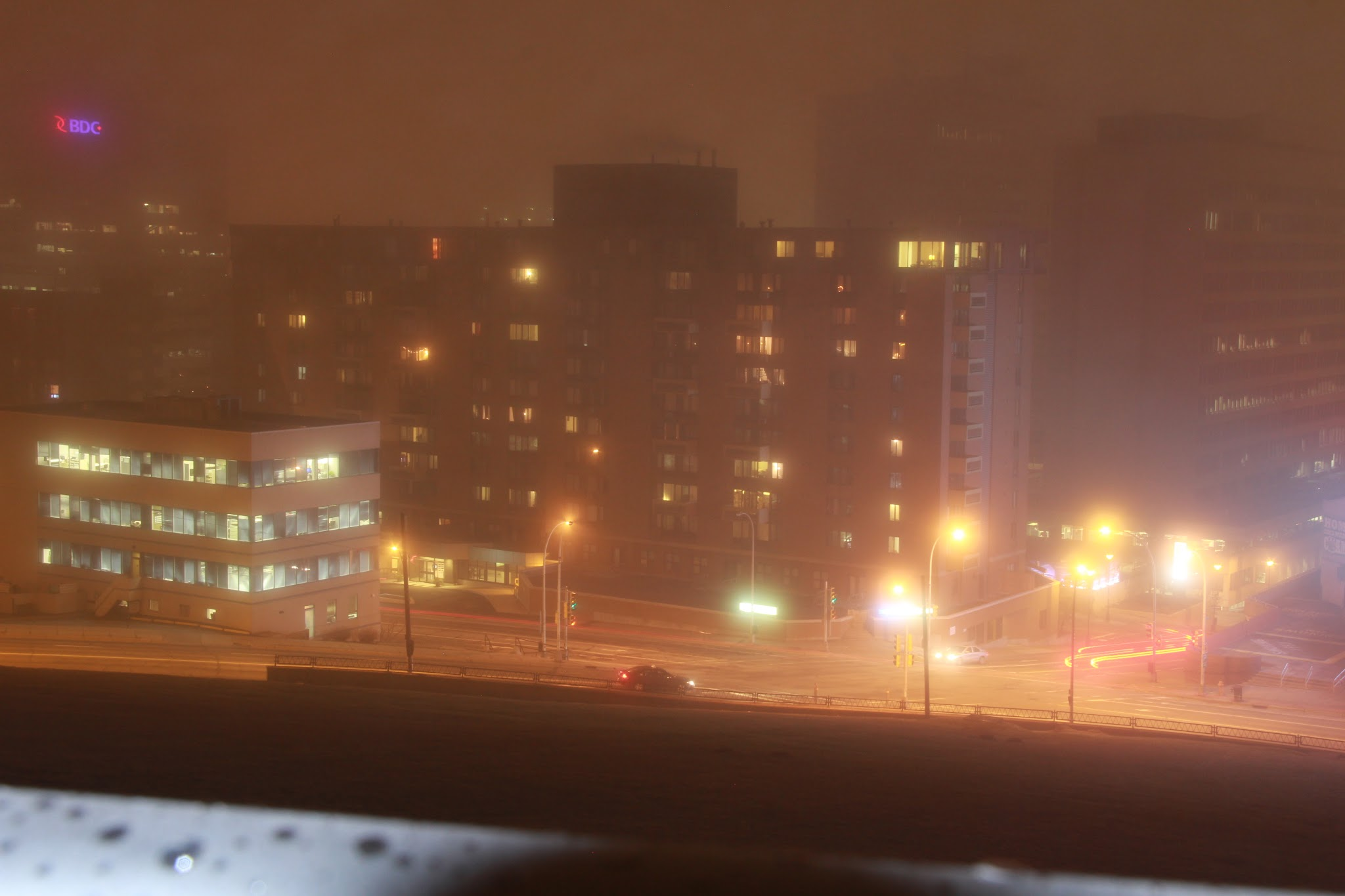 Fall Computer Screen Wallpaper Foggy Night In Halifax Cities