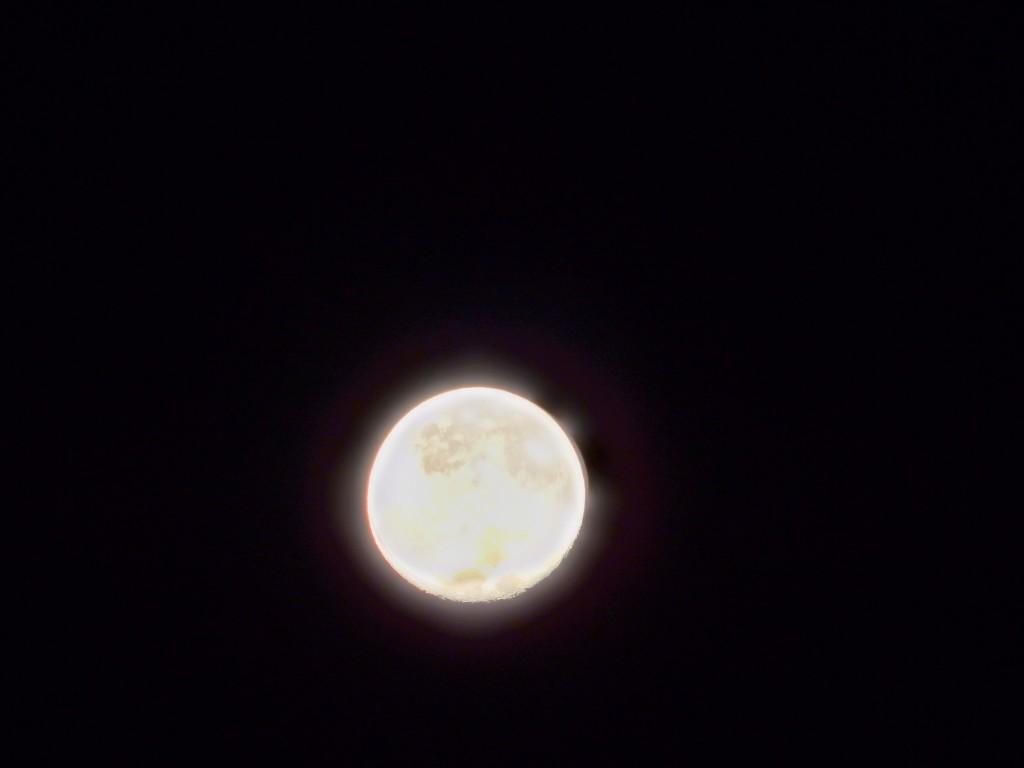 Black Diamond Plate Wallpaper Full Moon Close Up Black Sky Space