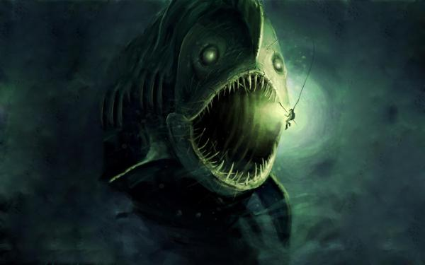 Scary Sea Creatures Monsters