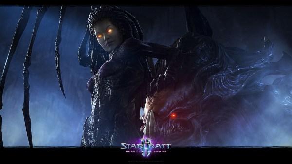 Starcraft Ii Wallpaper 010 Wallpapers Ethereal Games