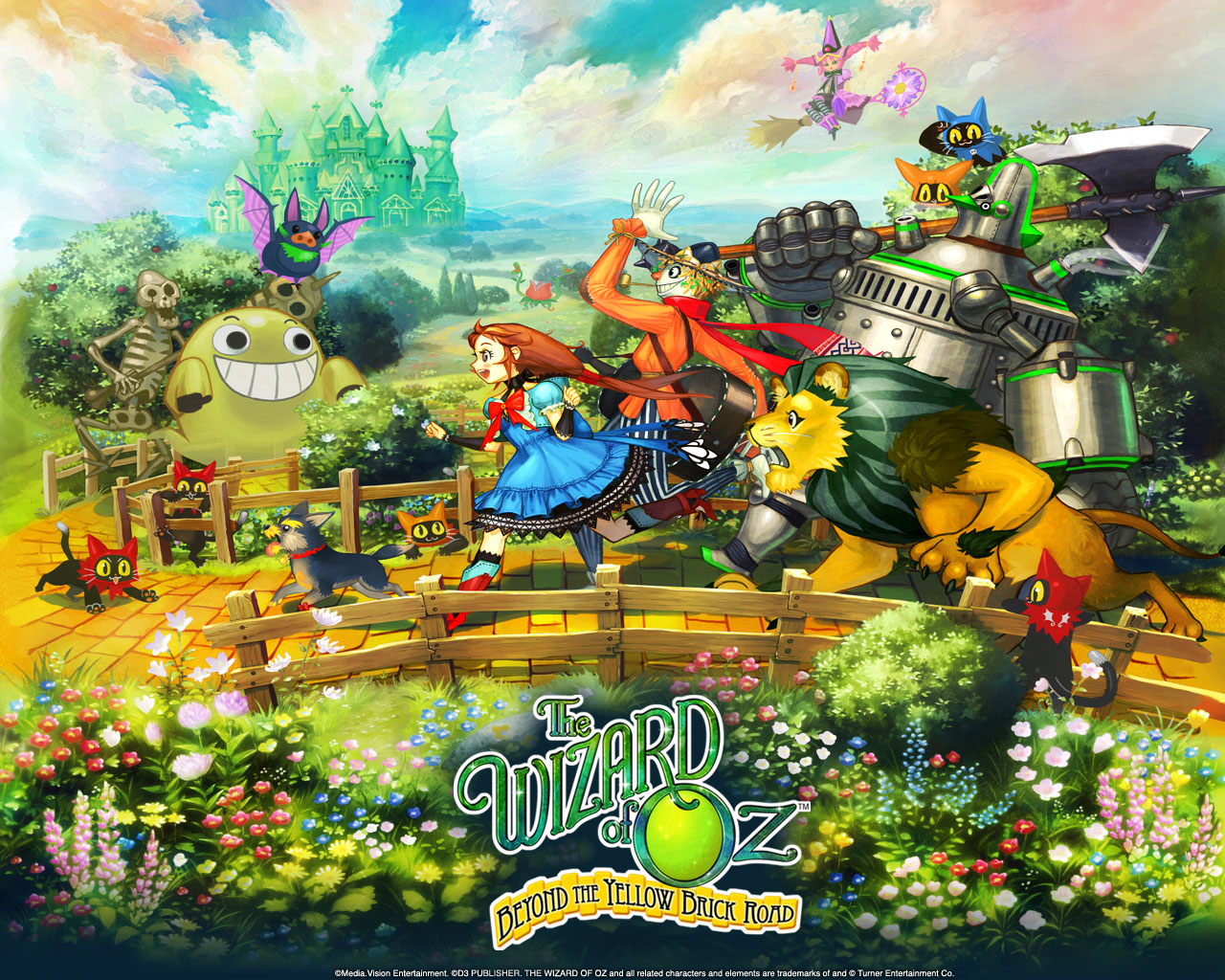 pix Wizard Of Oz Wallpaper the wizard of oz beyond the yellow
