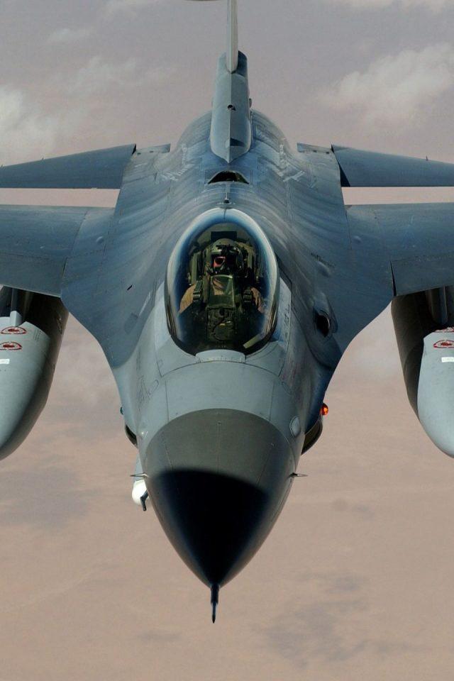 Army Iphone X Wallpaper F 16 Fighting Falcon Hd Wallpaper