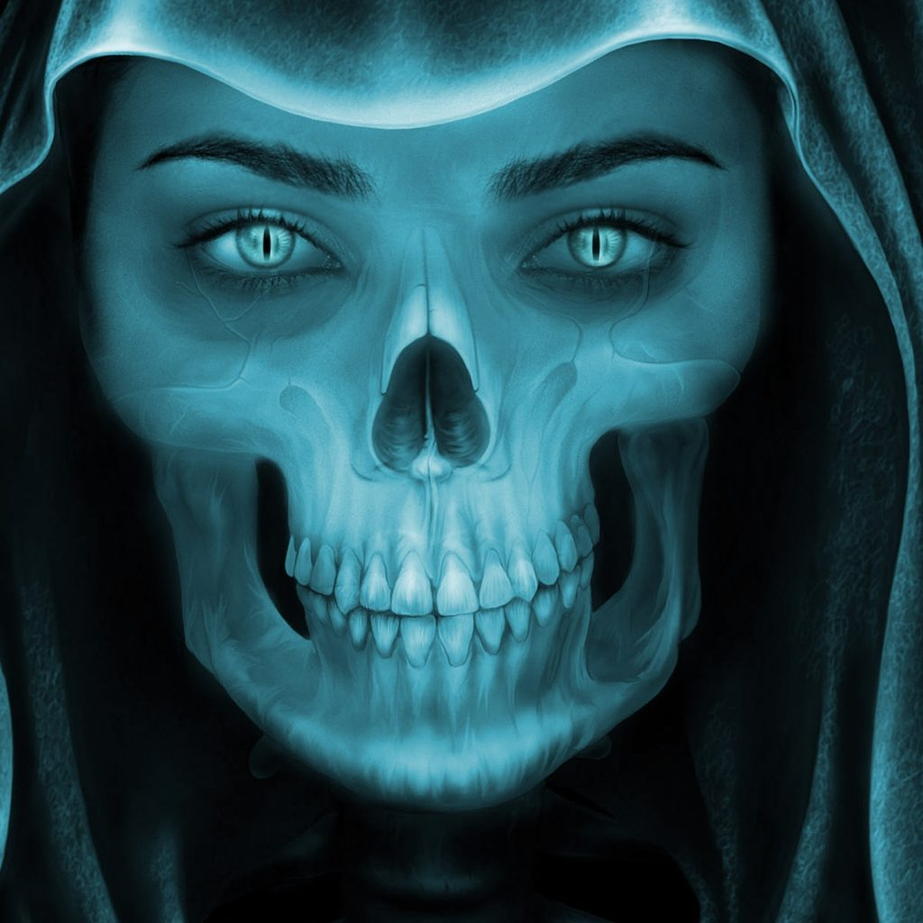 Vampire Girl Wallpaper Hd Female Grim Reaper Face Hd Wallpaper