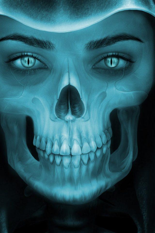 Girl Face Wallpaper For Mobile Female Grim Reaper Face Hd Wallpaper