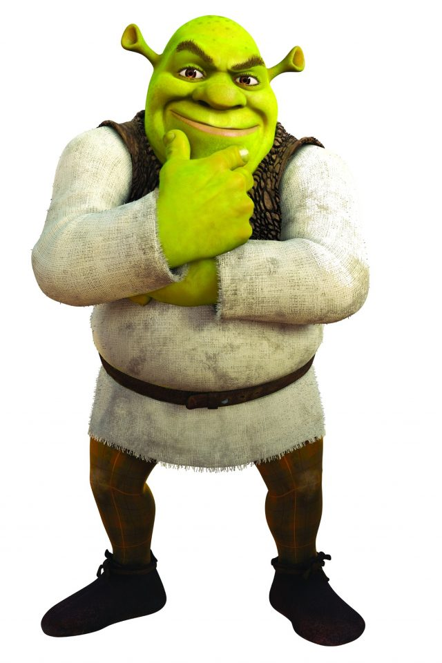 Animation Wallpaper Android Shrek Smiling Hd Wallpaper
