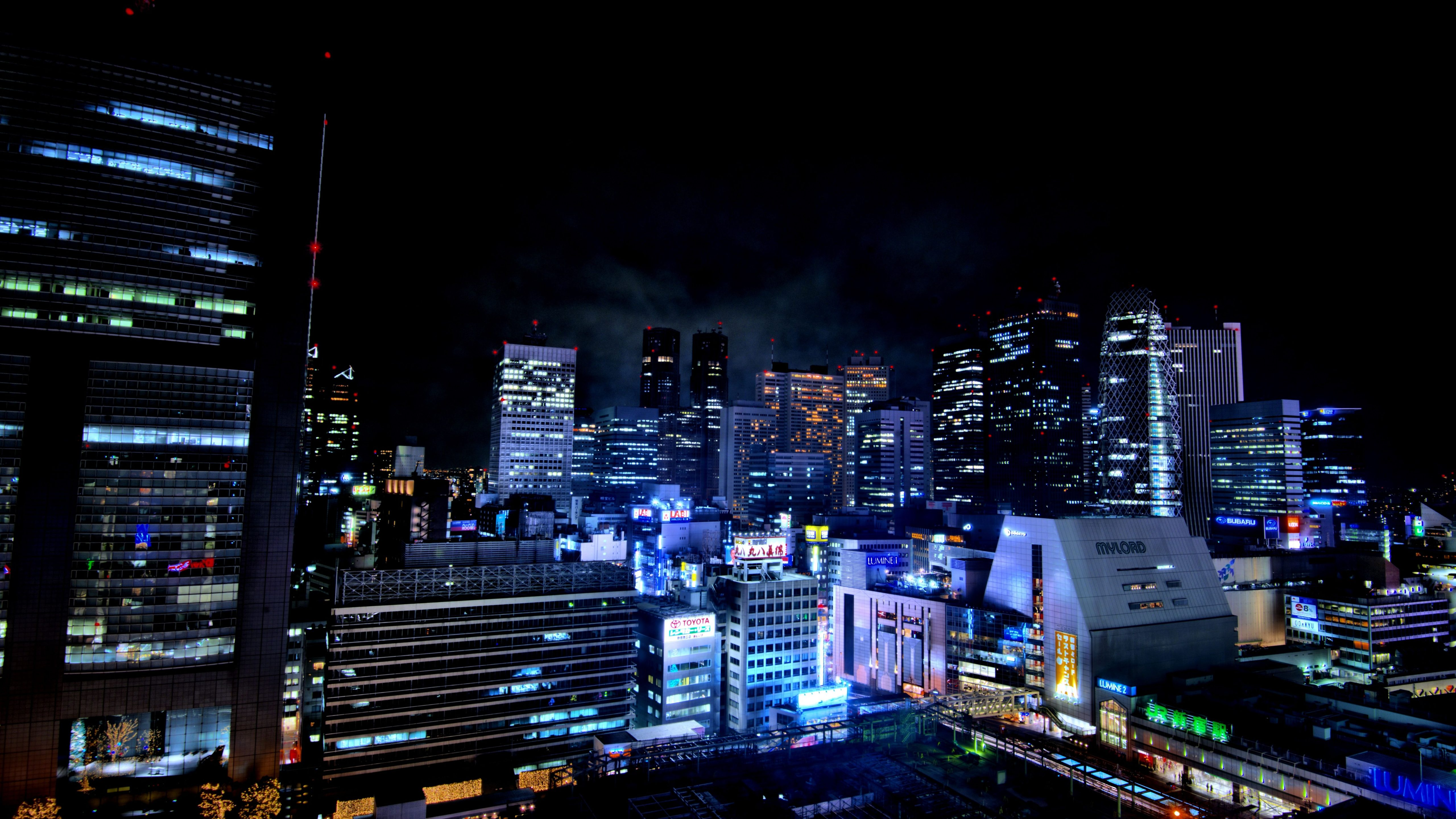 Cute But Psycho Iphone Wallpaper Tokyo At Night Japan 7k Uhd Wallpaper