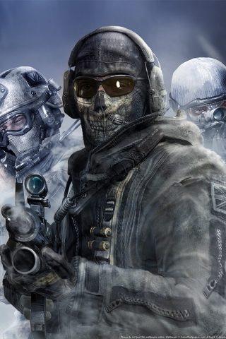 Iphone X Full Wallpaper Size Call Of Duty Modern Warfare 2 Quot Ghost Quot 2 Hd Wallpaper