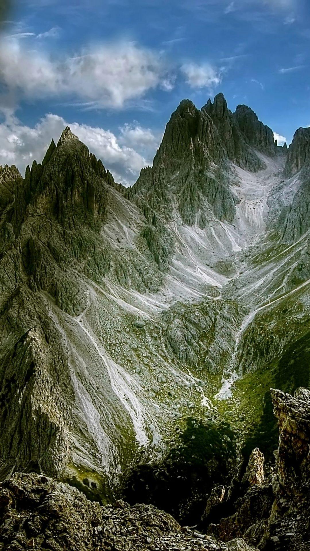 Iphone X Full Wallpaper Size Dolomites Mountains Cadini Di Misurina Hd Wallpaper