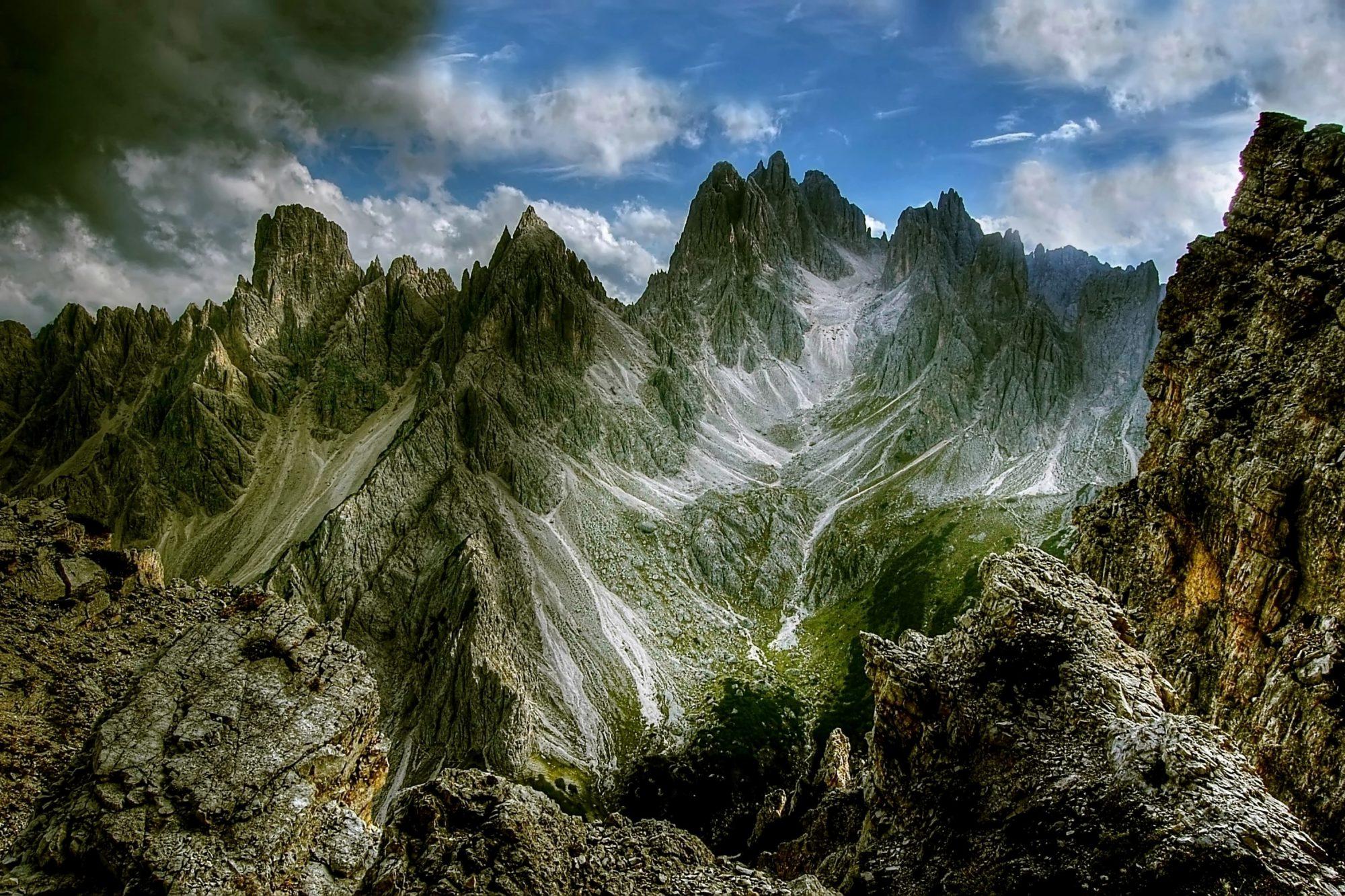 Iphone X Funny Wallpaper Dolomites Mountains Cadini Di Misurina Hd Wallpaper