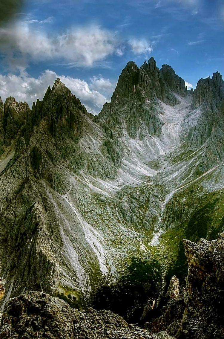 Iphone X Wallpaper Size Dolomites Mountains Cadini Di Misurina Hd Wallpaper