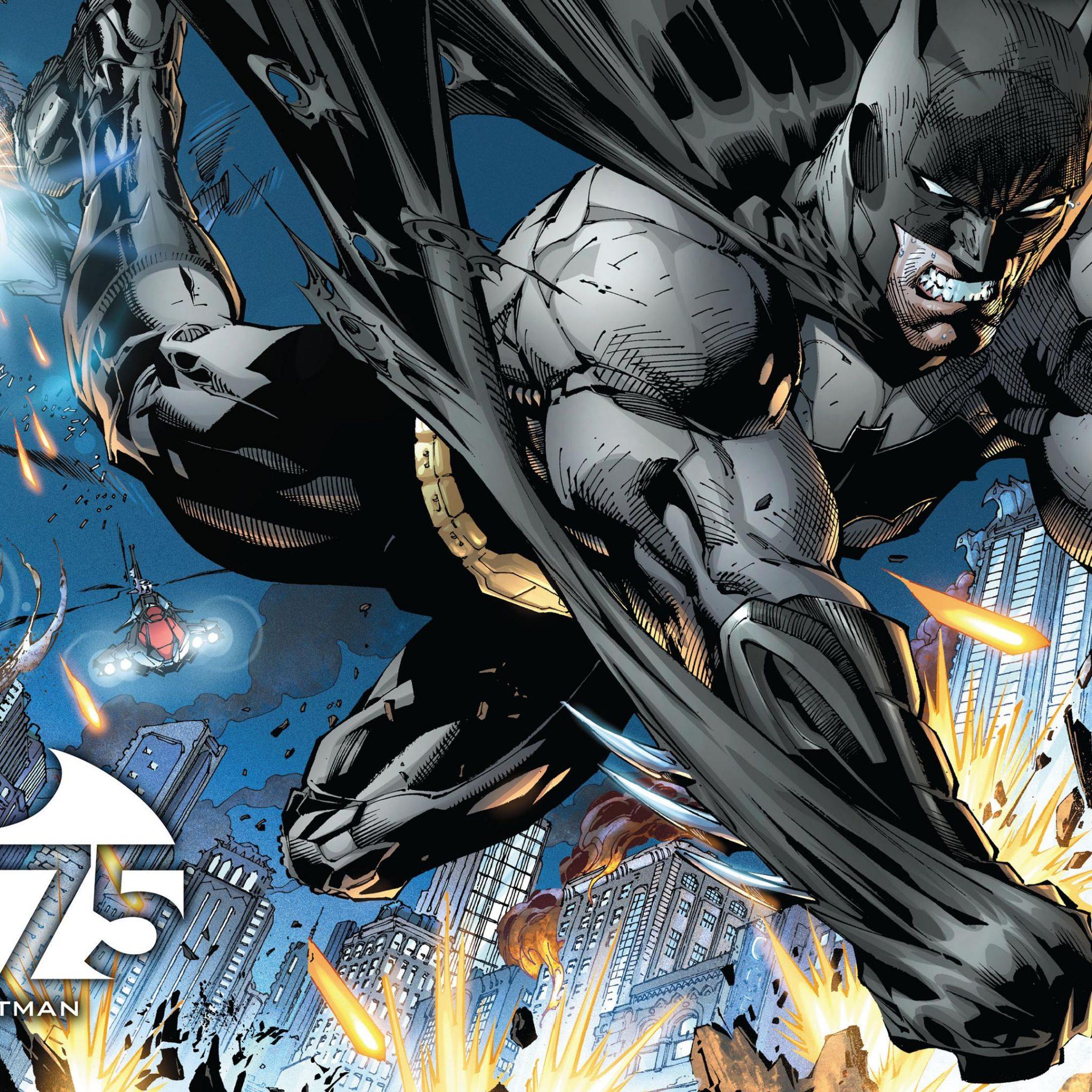 Deadpool Hd Wallpaper Iphone 75 Years Of Batman Dc Comics 4k Uhd Wallpaper