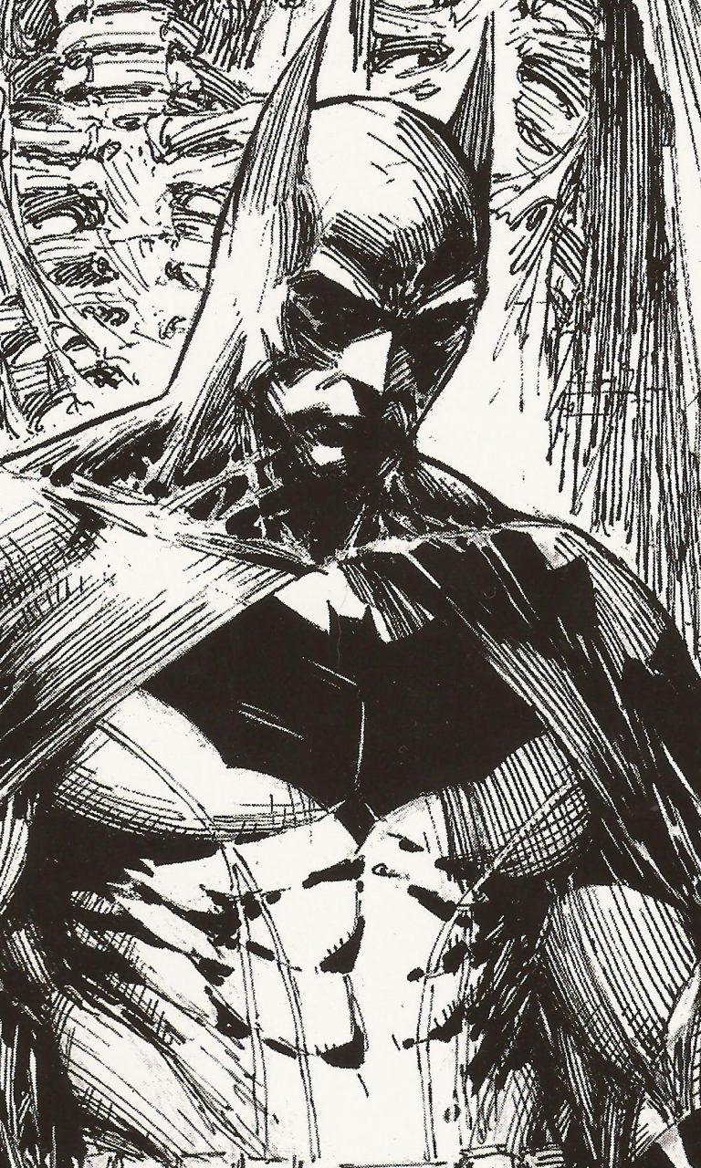 Dc Comics Wallpapers Hd Batman Drawing Black And White 4k Uhd Wallpaper