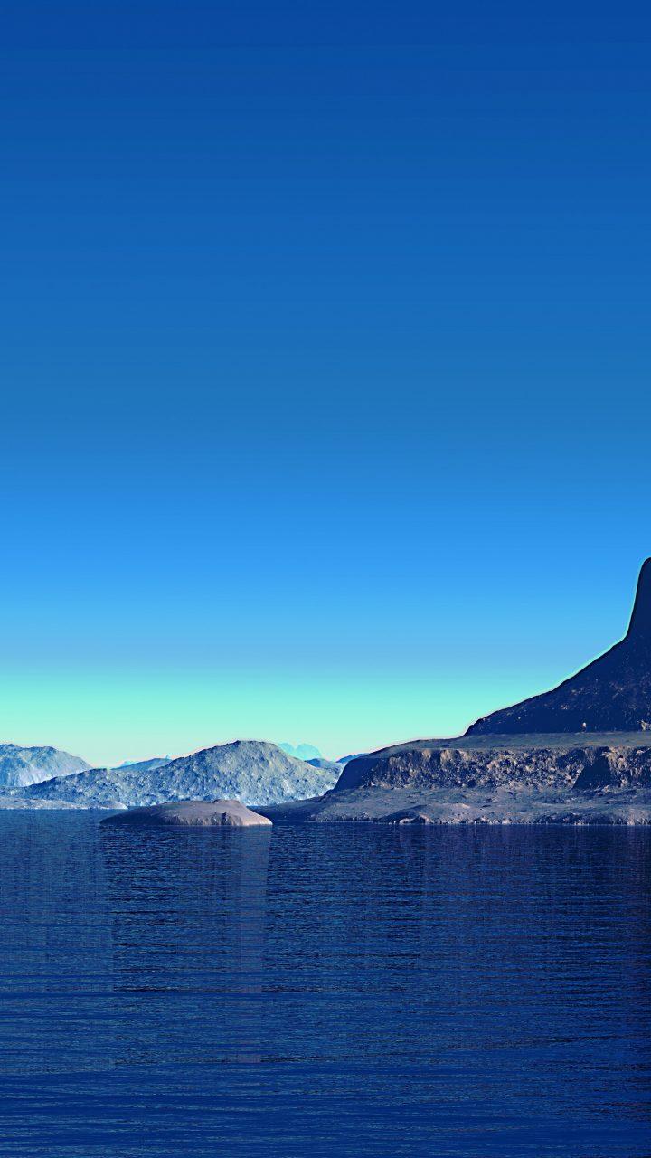 Ios 11 4 Wallpaper On Iphone X Alien Planet Landscape 4k Uhd Wallpaper