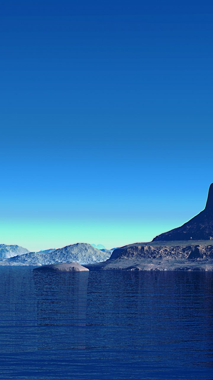 Ios 11 Iphone X Wallpaper Alien Planet Landscape 4k Uhd Wallpaper