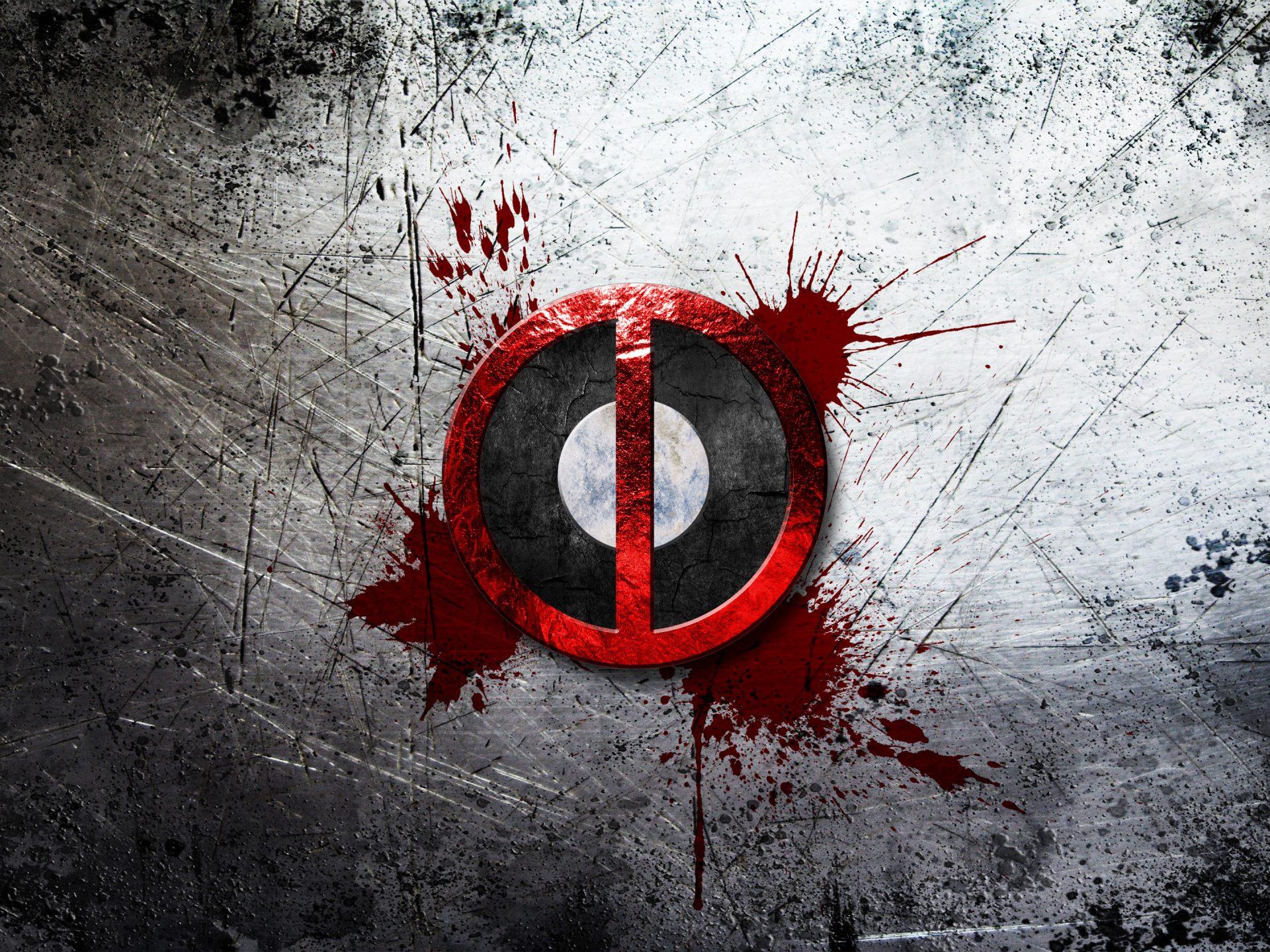 Deadpool Hd Wallpaper Iphone Deadpool Logo 4k Uhd Wallpaper