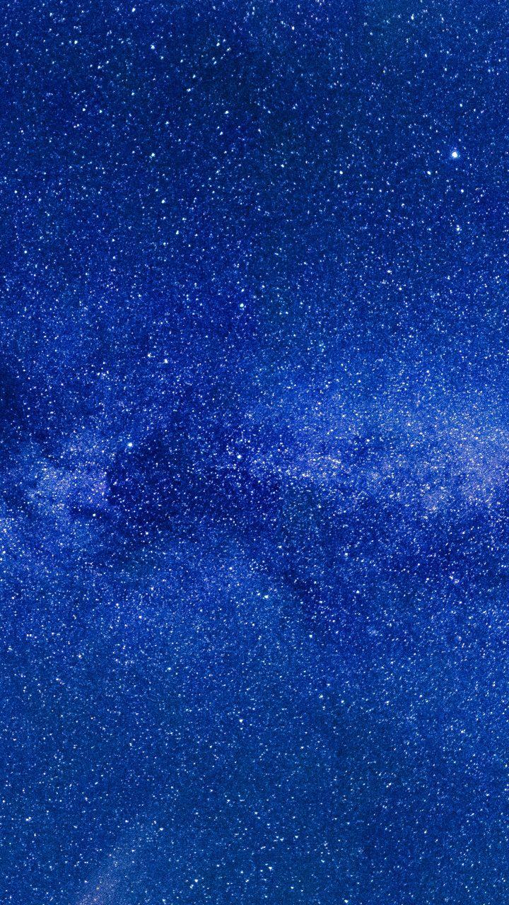 Ios 11 Iphone X Wallpaper Light Blue Starry Sky 4k Uhd Wallpaper