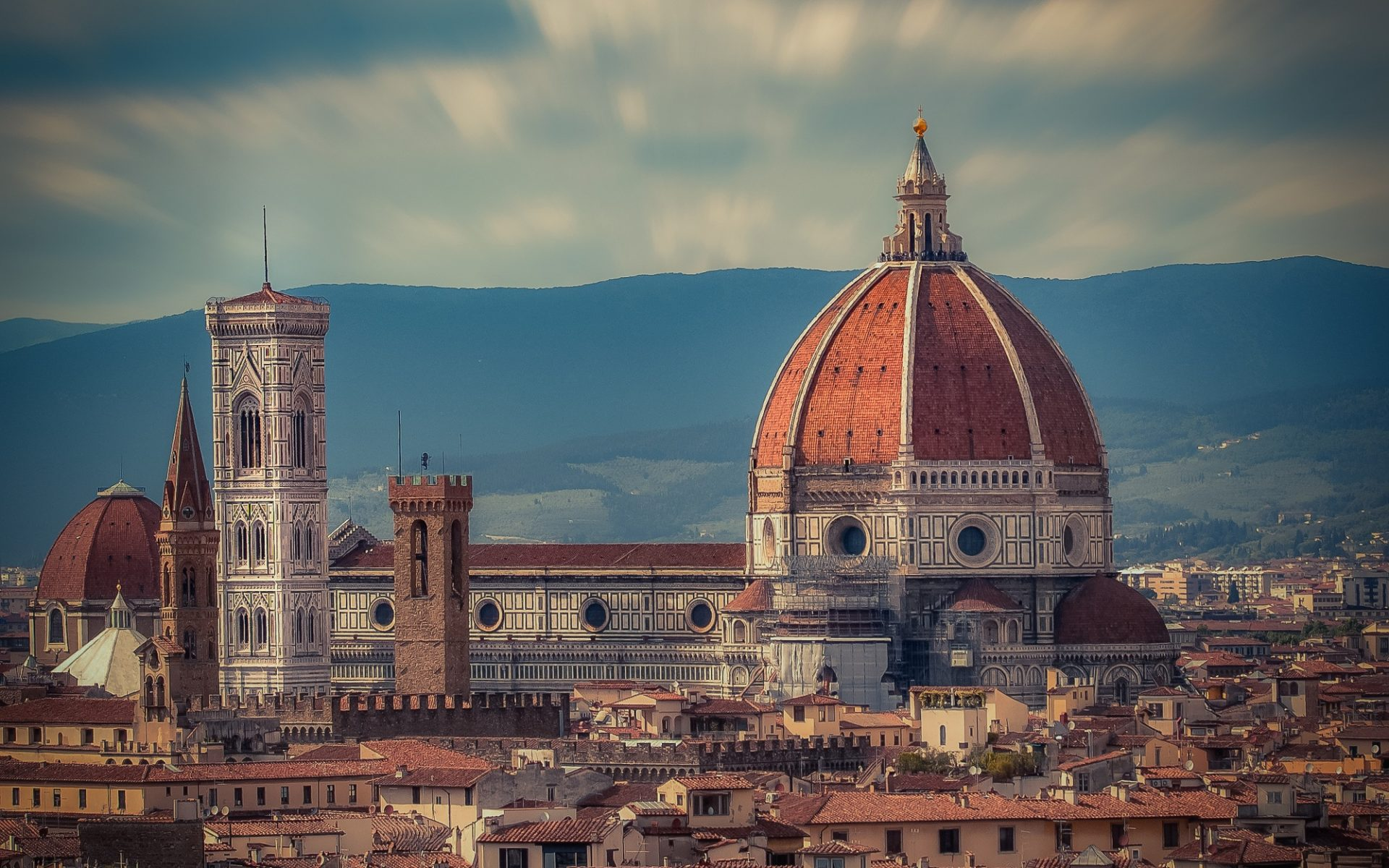 Girls Typography Iphone Wallpaper Florence Cathedral Italy Hd Wallpaper